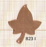 Estampe en cuivre vrac   FEUILLES 42X31 2 trous