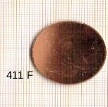Estampe en cuivre vrac   ROND 28MM
