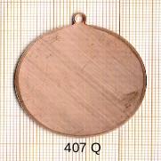 Estampe en cuivre vrac  pendentif ROND 40MM