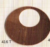 Estampe en cuivre vrac   DONUTZ ROND 48MM
