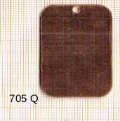 Estampe en cuivre vrac   RECT.ARRONDI 41X27MM