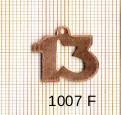 Estampe en cuivre vrac   CHIFFRE 13