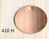 Estampe en cuivre vrac  pendentif ROND DIAM 29MM