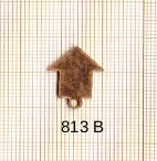 Estampe en cuivre vrac   FLECHE 16X15MM
