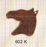 Estampe en cuivre vrac   TETE CHEVAL 34X31MM