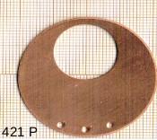 Estampe en cuivre vrac   DONUTZ ROND 42MM 3T