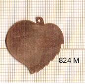Estampe en cuivre vrac   FEUILLE 33X38MM