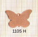 Estampe en cuivre vrac   PAPILLON 25X20MM