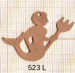 Estampe en cuivre vrac   VERSEAU 37X33MM