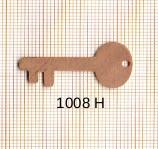 Estampe en cuivre vrac   CLE 31X14MM