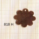 Estampe en cuivre vrac   FLEUR R.25MM