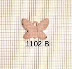 Estampe en cuivre vrac   PAPILLON 13X14MM