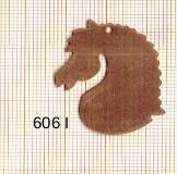 Estampe en cuivre vrac   TETE CHEVAL 35X26MM